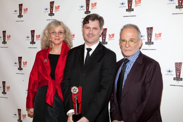 Blythe Danner, John Collins and Ron Rifkin at 26th Annual Lucille Lortel Awards: Winners, Presenters and Performers