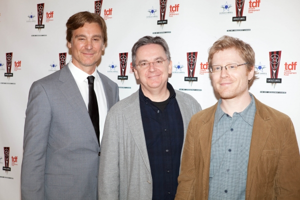 Michael T. Weiss, James Houghton and Anthony Rapp Photo
