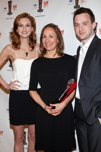 Hilarie Burton, Laurie Metcalf and Eddie Kaye Thomas