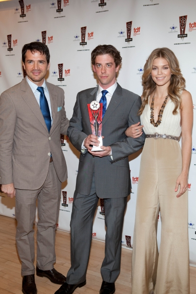 Matthew Settle, Christian Borle and AnnaLynne McCord