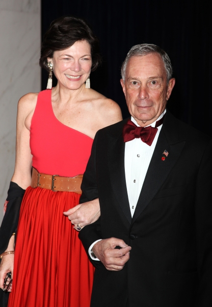 Michael R. Bloomberg & Diana Taylor  attending the White House Correspondents' Association (WHCA) dinner at the Washington Hilton Hotel in Washington, D.C. on April 30, 2011 © Walter McBride / WM Photography / Retna Ltd.