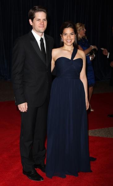 America Ferrera & Ryan Piers Williams attending the White House Correspondents' Assoc Photo