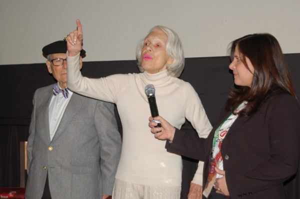 Photo Flash: Carol Channing at LARGER THAN LIFE Premiere at Tribeca Film Festival