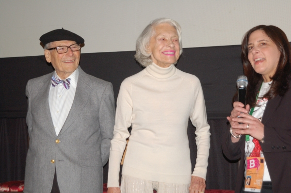 Harry Kullijian, Carol Channing, Dori Berinstein