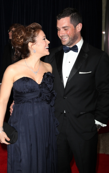 Alyssa Milano and David Bugliari attending the White House Correspondents' Association (WHCA) dinner at the Washington Hilton Hotel in Washington, D.C.. © Walter McBride / WM Photography / Retna Ltd.