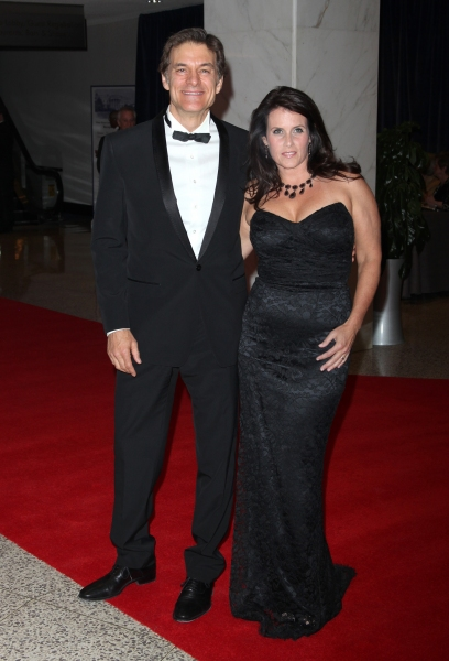 Dr. Oz & wife Lisa attending the White House Correspondents' Association (WHCA) dinner at the Washington Hilton Hotel in Washington, D.C.. © Walter McBride / WM Photography / Retna Ltd. at Stars at the 2011 White House Correspondents' Dinner - Part 2