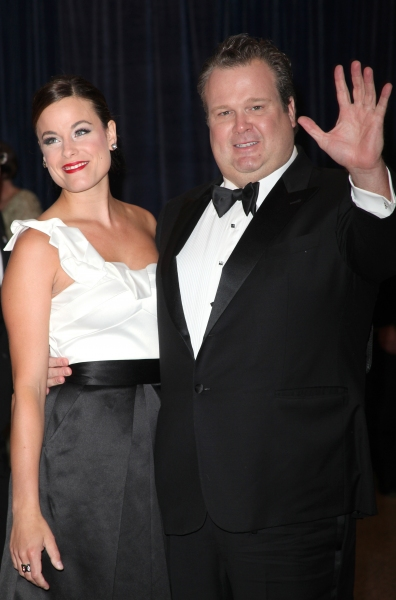 Eric Stonestreet and wife Katherine Tokarz attending the White House Correspondents' Association (WHCA) dinner at the Washington Hilton Hotel in Washington, D.C.. © Walter McBride / WM Photography / Retna Ltd. at Stars at the 2011 White House Correspondents' Dinner - Part 2
