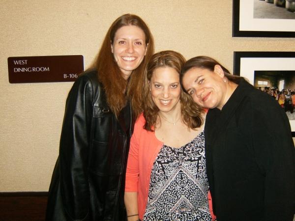 Libby Fandrei, Stacey Flaster and Ann N. Davis