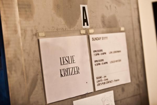 Photo Flash: Leslie Kritzer in BEAUTIFUL DISASTER at Joe's Pub
