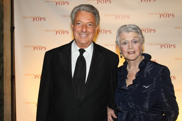 Michael Roth and Angela Lansbury