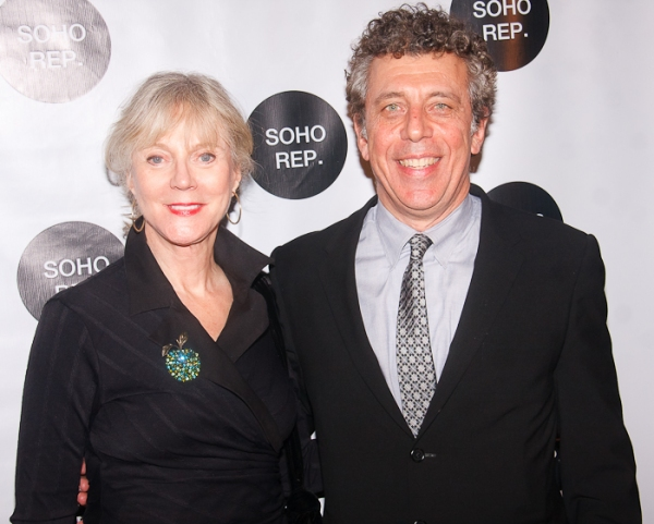 Blythe Danner and Eric Bogosian at Soho Rep Honors Marian Seldes