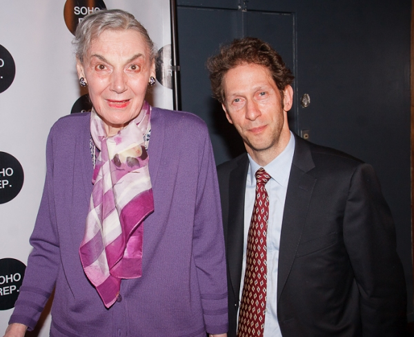 Marian Seldes and Tim Blake Nelson