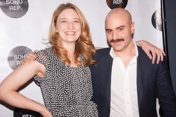 Heidi Schreck and David Adjmi Photo