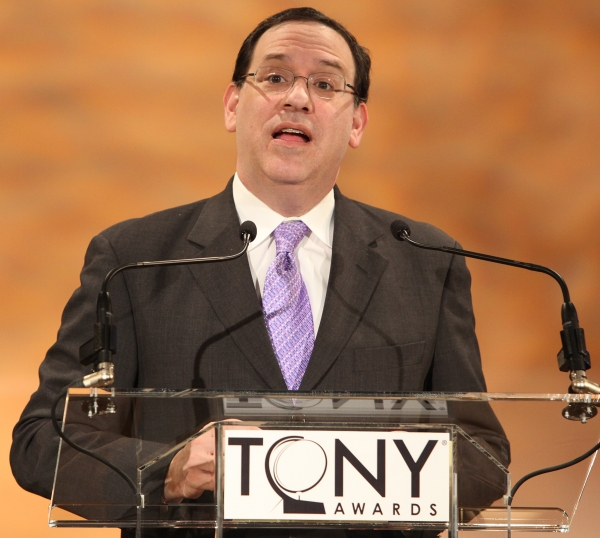 Howard Sherman attending the 2011 Tony Award Nomination Announcements at Lincoln Center in New York City