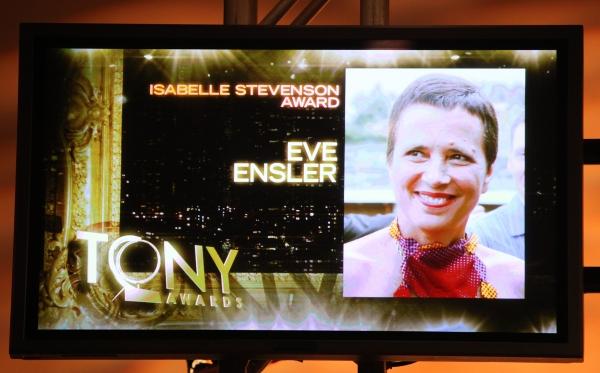 Isabelle Stevenson Award Announcement Photo