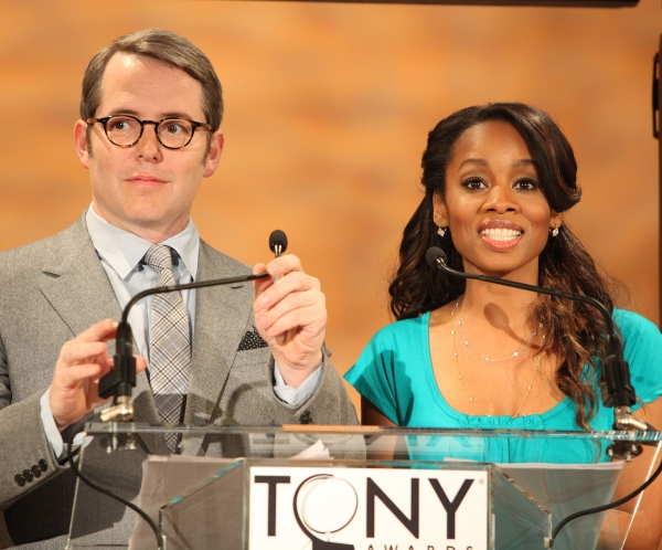 Photo Coverage: 2011 Tony Award Nominations Announcement