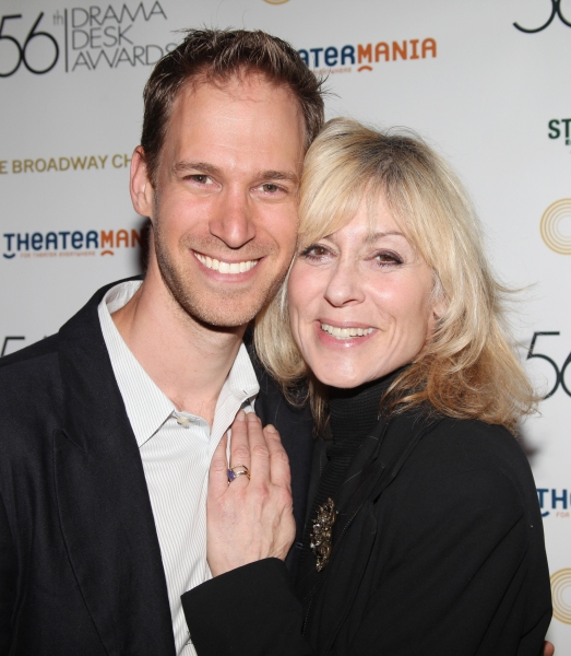 David Korins & Judith Light attending the 56th Annual Drama Desk Award Nominees Reception at Bombay Palace in New York City. at Drama Desk Nominee Reception - The Women