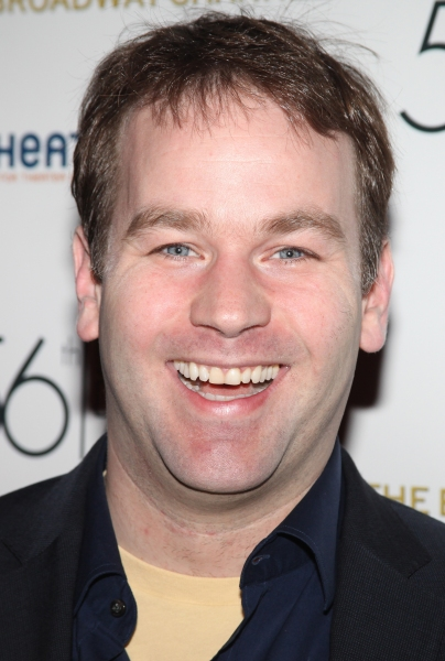 Mike Birbiglia attending the 56th Annual Drama Desk Award Nominees Reception at Bombay Palace in New York City.