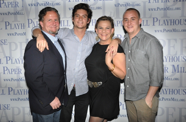 Kim Zimmer and her family-husband A.C Weary and sons Max Weary and Jake Weary