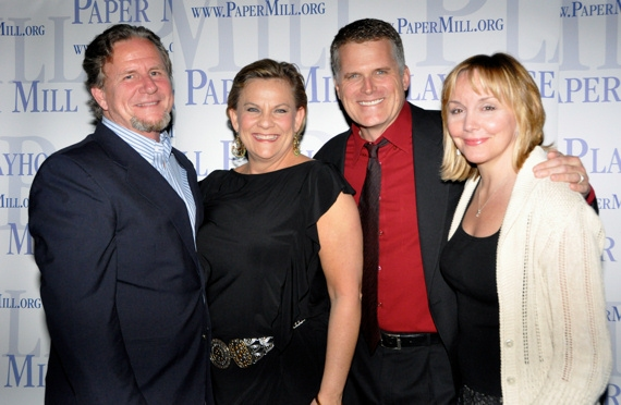 Photo Coverage: Paper Mill Celebrates CURTAIN's Opening Night Party