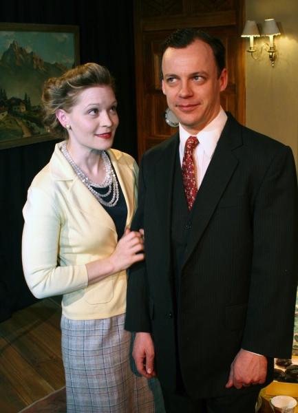Alisha Spielmann and Matthew Trumbull