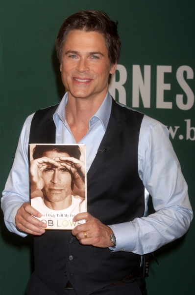 Rob Lowe at Rob Lowe Promotes New Book, 'Stories I Only Tell My Friends' in NYC