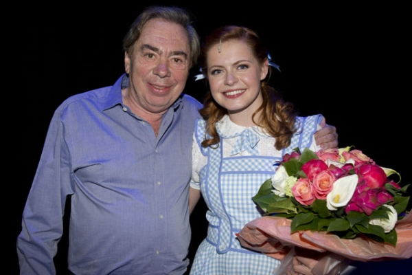 Photo Flash:  WIZARD OF OZ's Sophie Evans at Media Night