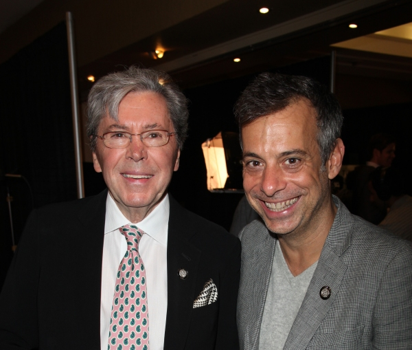 Brian Bedford & Joe Mantello attending the 65th Annual Tony Awards Meet The Nominees Press Reception at the Millennium Hotel in New York City.
