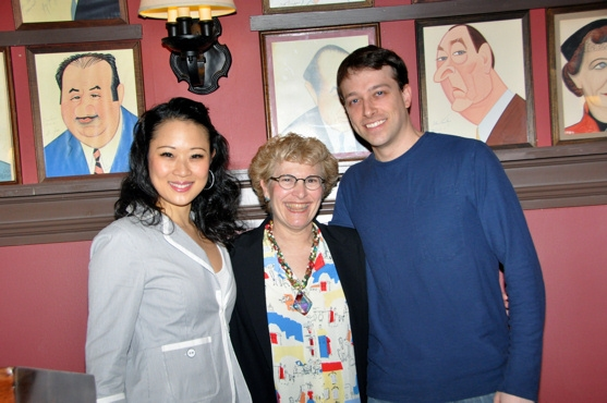 Sae La Chin, Lauren Gorden (Career Counselor Career Transition for Dancers)  and Chad Seib
