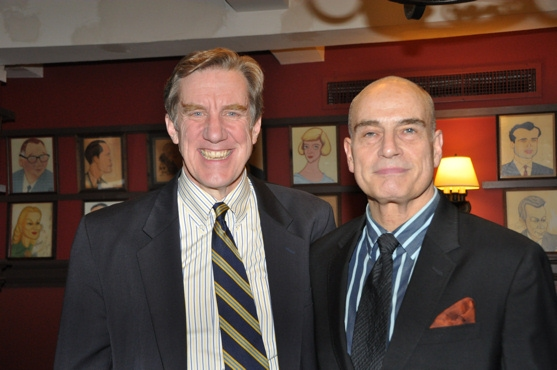 Nick Wyman and Alexander J. Dube (Executive Director Career Transitions for Dancers) Photo