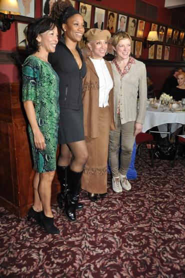 Joann M. Hunter, Judine Somerville, Mercedes Ellington and Mary Macleod