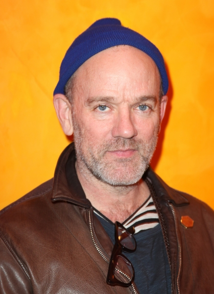 Michael Stipe attending the Times Talks with Betty White & Michael Stipe at Times Center in New York City.
