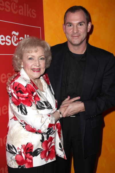 Photo Coverage: Betty White & Michael Stipe Visit TimesTalks