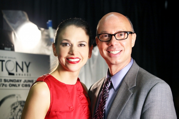 Sutton Foster & Richie Ridge attending the 65th Annual Tony Awards Meet The Nominees Press Reception at the Millennium Hotel in New York City at Photo Coverage Exclusive: 2011 Tony Award Nominee Portraits - The Women