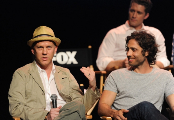 Ryan Murphy, Brad Falchuk, and Matthew Morrison Photo