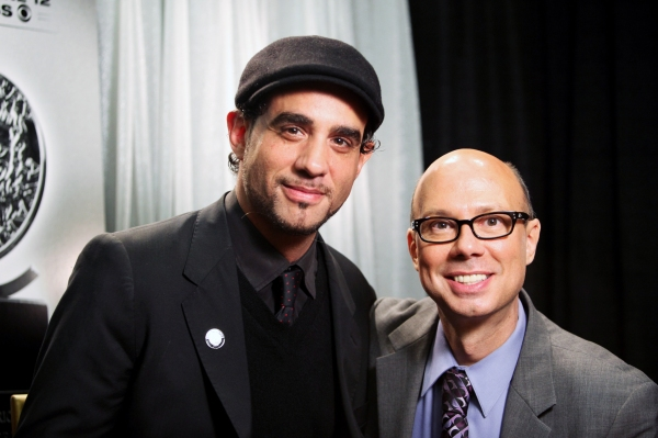 Bobby Cannavale & Richie Ridge attending the 65th Annual Tony Awards Meet The Nominees Press Reception at the Millennium Hotel in New York City at Photo Coverage Exclusive: 2011 Tony Award Nominee Portraits - The Men