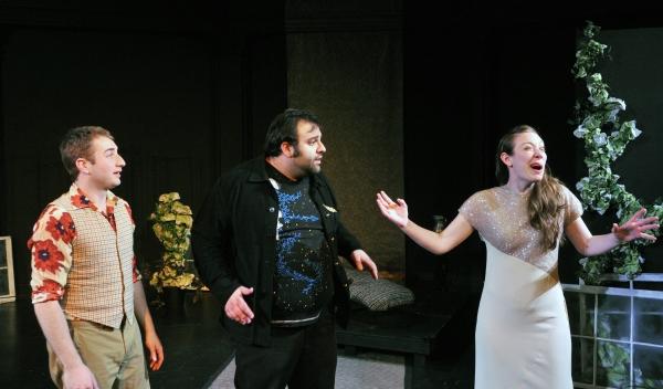Steve Mazzoccone, Jonathan Marballi, and Leah Reddy Photo