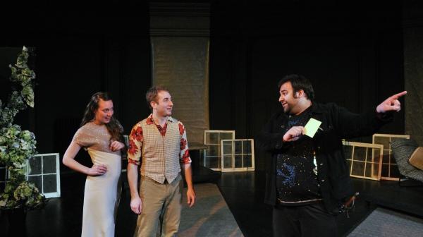 Leah Reddy, Steve Mazzoccone, and Jonathan Marballi Photo