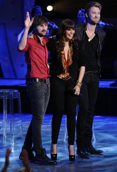 Lady Antebellum  at Jacob Lusk Leaves AMERICAN IDOL