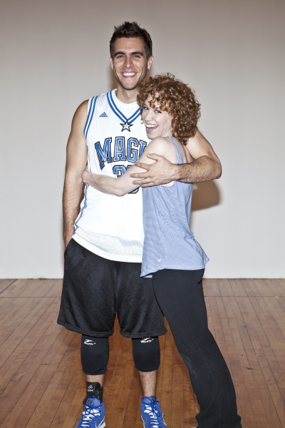 Josh Segarra and Lindsay Chambers