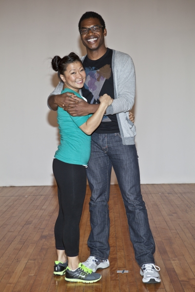 Katie Boren and Max Kumangai