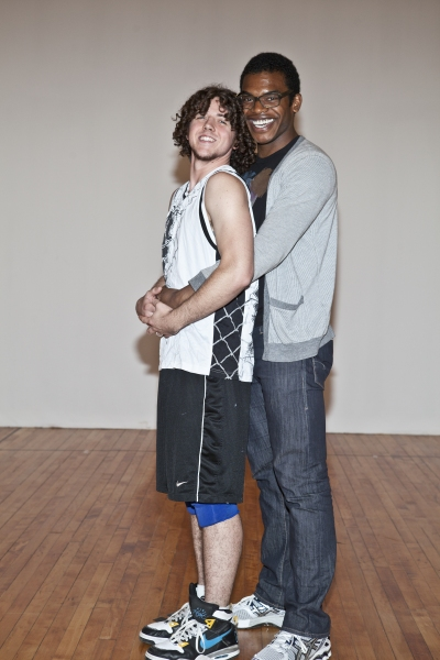 Teddy Toye and Max Kumangai at Meet the Cast of Transport Group's LYSISTRATA JONES!