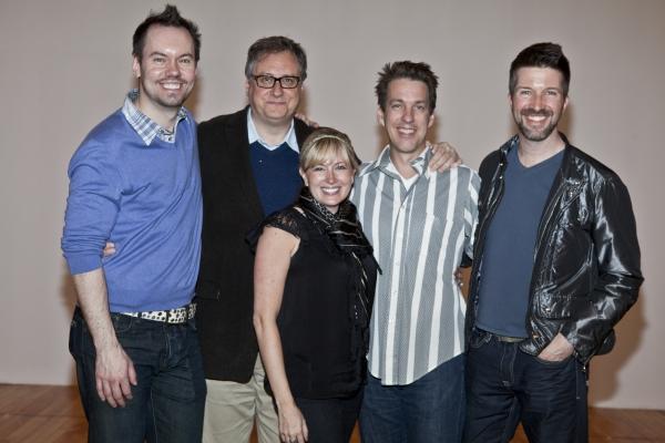 Dan Knechtges, Douglas Carter Bean, Jessica Hartman, Lewis Flinn and Bradley Simmons Photo