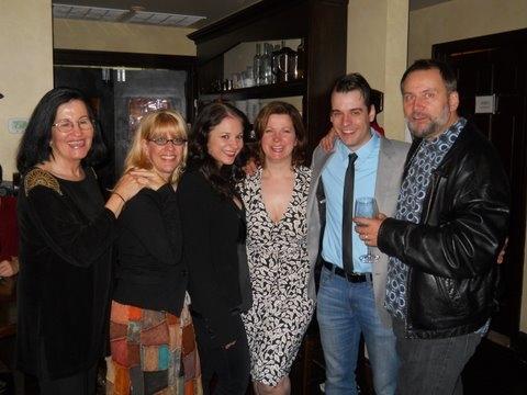 Israela Margalit,Margarett Perry,Lori Prince, Susan Ferrara, Christopher Hirsh, Brian Photo