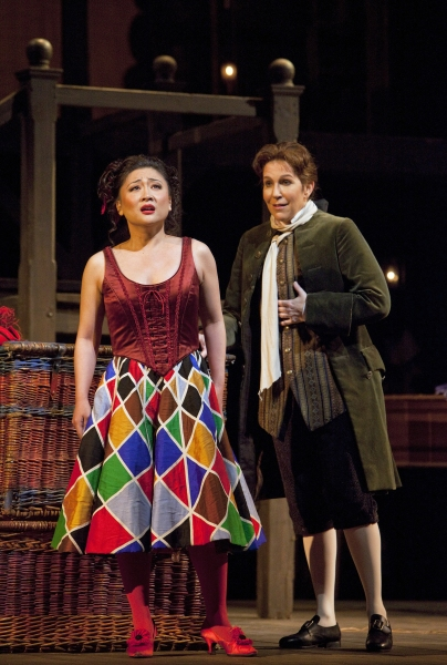 Kathleen Kim as Zerbinetta and Joyce DiDonato as the Composer