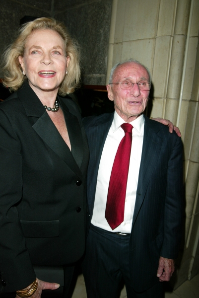 Lauren Bacall and Arthur Laurents