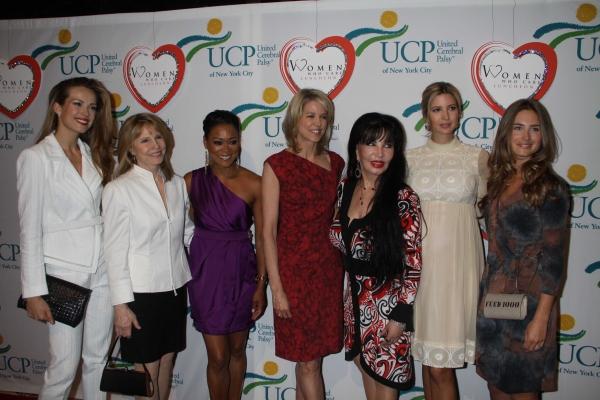 Petra Nemcova,Donna Hanover, Robin Givens,Paula Zahn, Lorenn Arbus, Ivanka Trump, Lauren Bush.