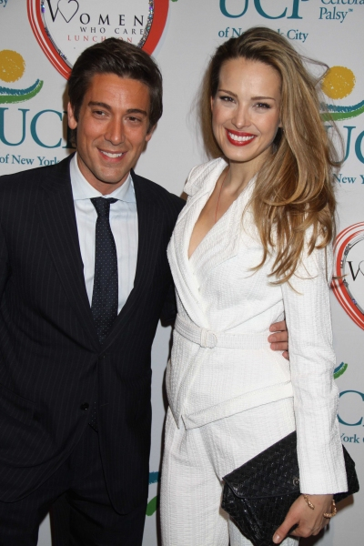 Petra Nemcova and David Muir at Women Who Care Luncheon 2011