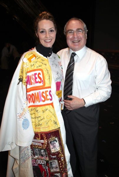Shannon Lewis & Todd Haimes attending the Broadway Opening Night Gypsy Robe Ceremony celebrating Recipient Shannon Lewis for 'The People In The Picture' in New York City. at THE PEOPLE IN THE PICTURE Gypsy Robe Ceremony