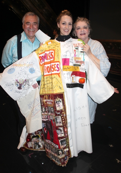 Hal Robinson & Shannon Lewis & Joyce Van Patten attending the Broadway Opening Night Gypsy Robe Ceremony celebrating Recipient Shannon Lewis for 'The People In The Picture' in New York City.